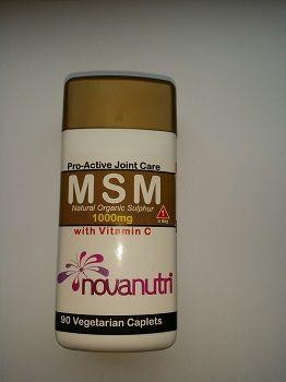 MSM (Natural Organic Sulphur) 30 Vegetarian Caplets